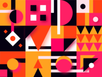 Pattern Party geometric design bright color combinations minimalistic pattern art geometry patterns pattern design geometric shapes pattern colours cute vector trendy colourful layout simple design minimal illustration