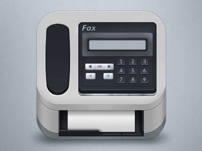 Fax Icon icon ios fax machine