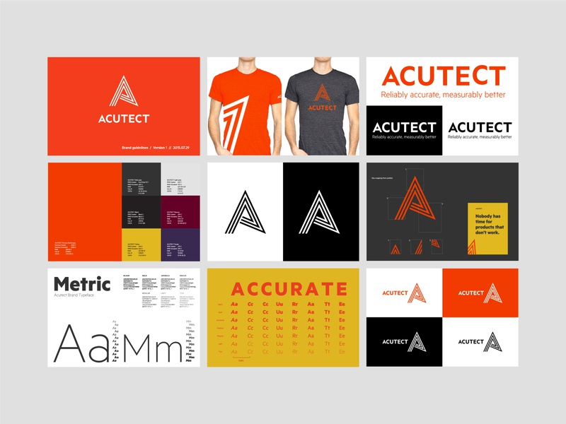 Acutect brand guidelines
