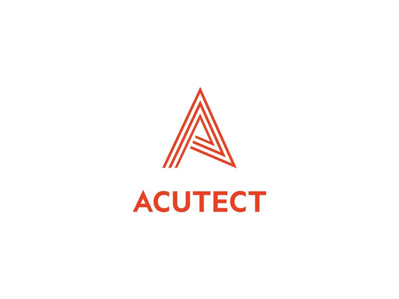 Acutect identity vertical lockup