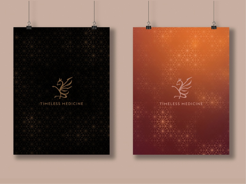Timeless Medicine poster design