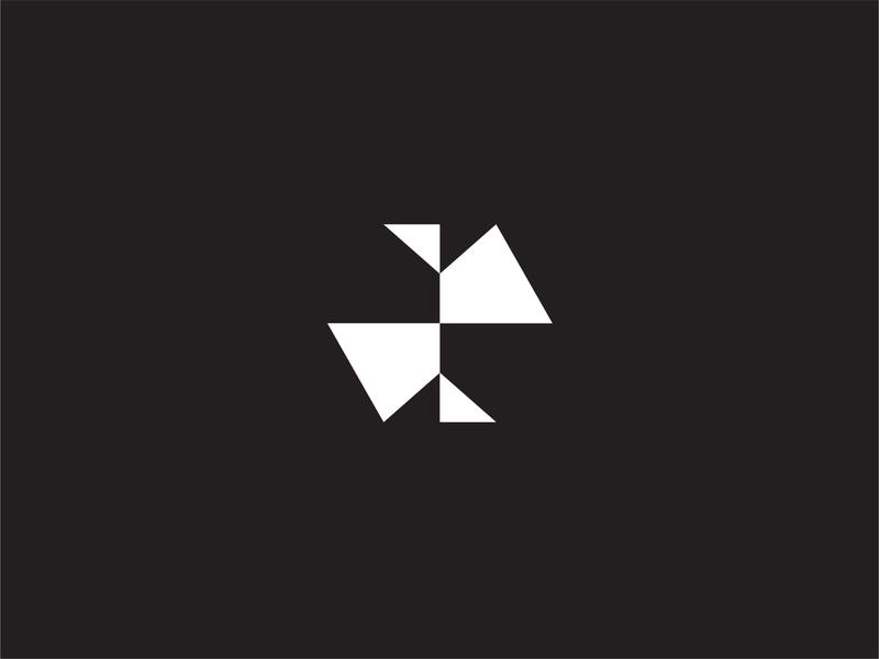 Friendtier Logomark Black and White