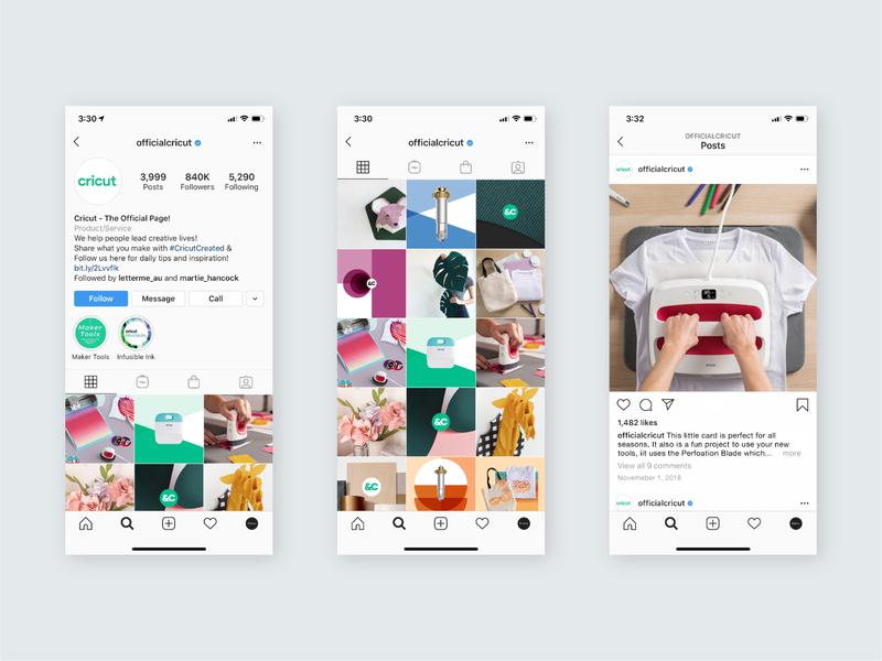 Cricut Social Media and Brand Assets