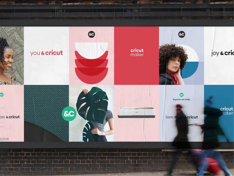 Cricut Visual System in Advertising