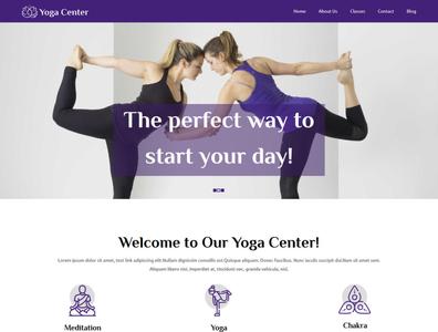 Yoga Center Yoga WordPress Theme | TemplateToaster
