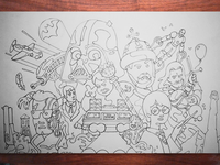 Heroes Galore Sketch