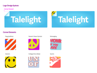 Talelight Corner Sticker System