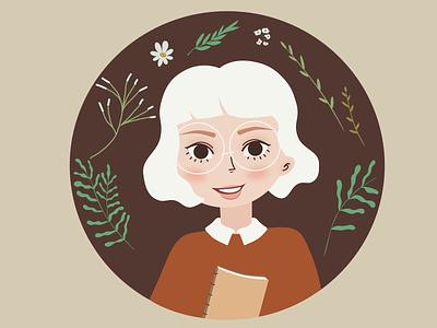 Little Girl 2 - Illustration cutegirl girl graphic design animation branding vector ui illustrator character illustration