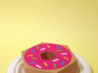 Donut drib large