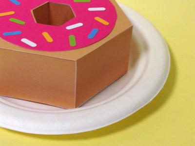 Kwik-Krafts / 6.7.13 / National Donut Day kwik-krafts donut sprinkles cut fold craft paper