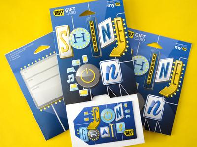 Best Buy - Shine On Gift Card