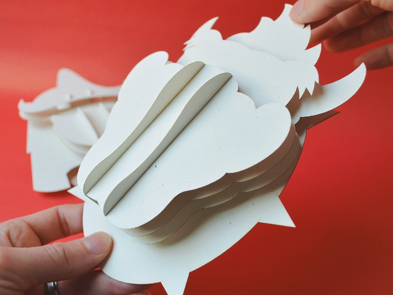 Super Headhunters - Paperkraft Prototype paper craft kwik-krafts bowser shredder laser cut super mario bros turtles in time tmnt