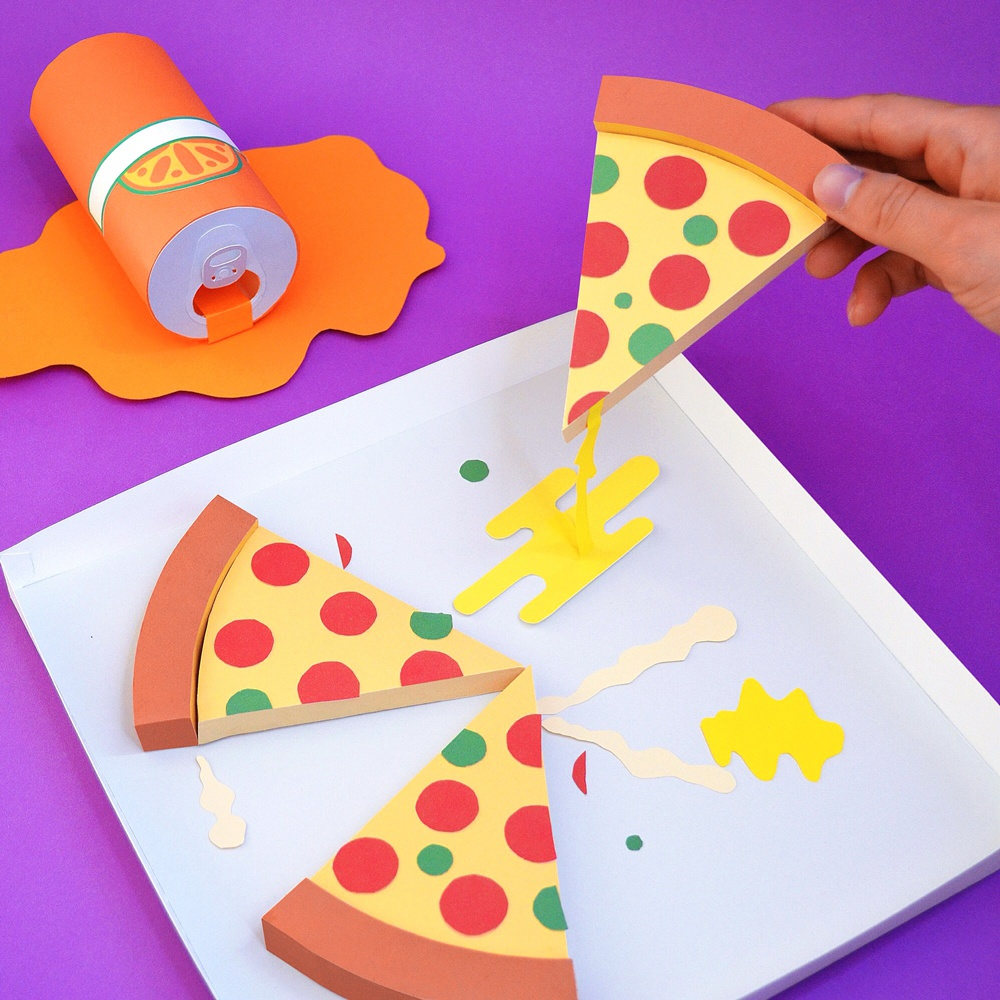 Tommy perez paper pizza party big