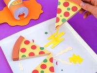 Kwik-Krafts / 8.10.14 / Paper Pizza Party