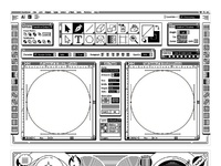 Tommy perez wooden boombox laser 01