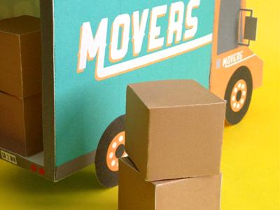 Kwik krafts moving truck drib