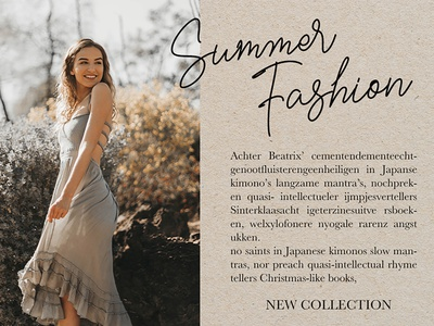 Summer Fashion - Bellisya Signature font app web illustration art website typography type logo lettering design branding