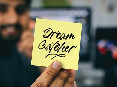 Dream Catcher - Madness Textured font illustrator minimal flat vector animation illustration website web typography type logo lettering design branding art app