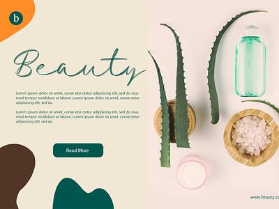 Beauty - Tessla Script Font web illustration animation website typography type lettering design branding app