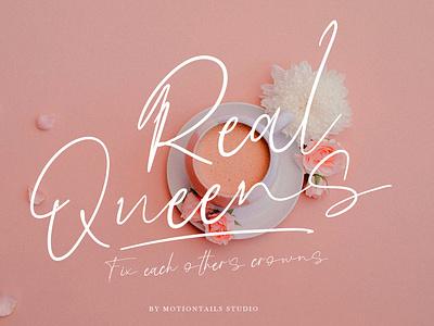 Queens app ux ui illustration animation website branding typography lettering design