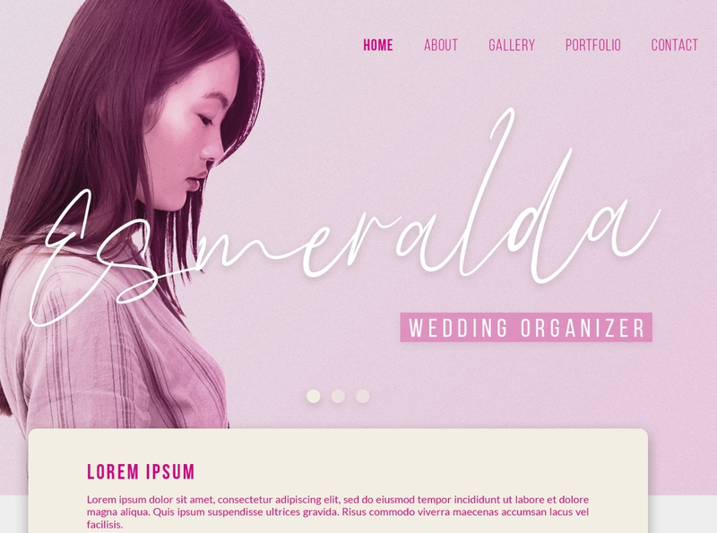 Esmeralda ui web illustration animation website branding app typography lettering design