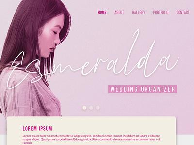 Esmeralda ui web illustration animation website branding app typography lettering design