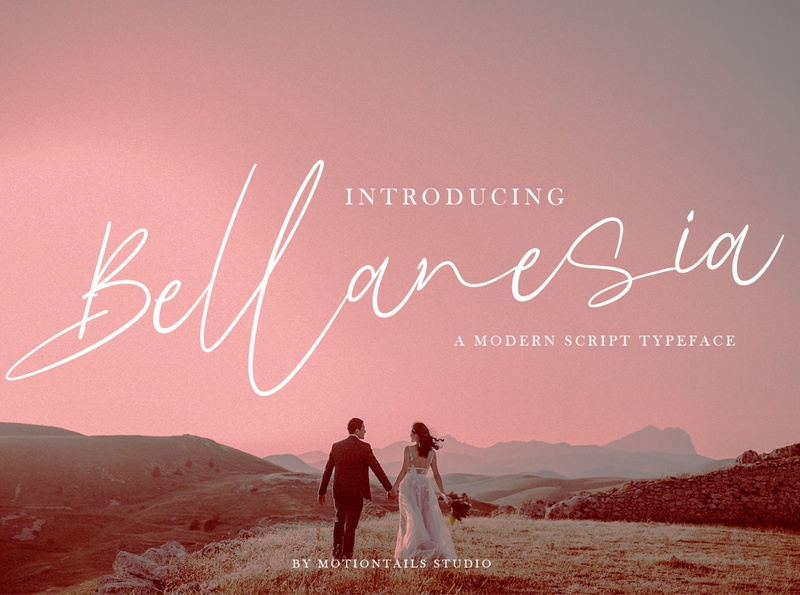 Bellanesaia web illustration animation type website branding typography lettering design app