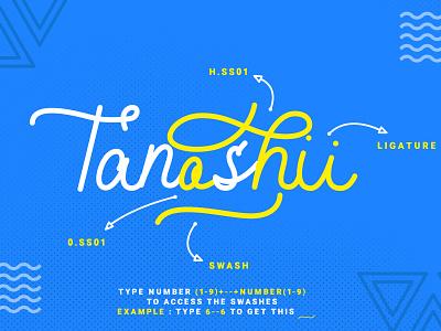 Shibuyah Modern Script Font typography ux ui web logo website lettering branding design app