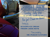 Sunday Drive - Car show flyer