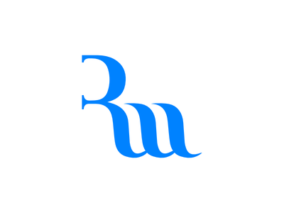 Retwork Logo Design monogram lettering typography branding icon identity brand design logotype logo