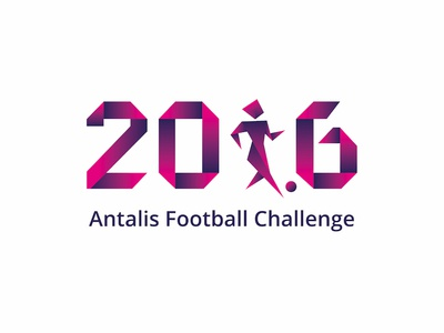 Logo Antalis sport challenge football antalis design logo
