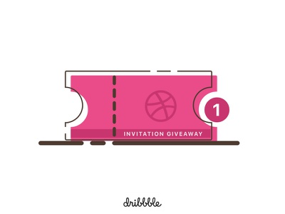 Dribbble Invite giveaway ticket player draft invitation invite dribbble