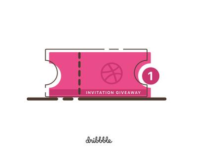 Dribbble Invite giveaway ticket player draft invitation invite dribbble