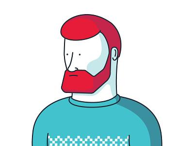 Red Beard jack lumber simple man red beard