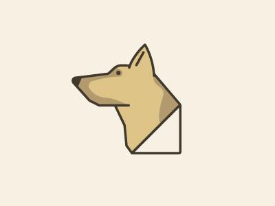 Dog dog brown shepard german simple
