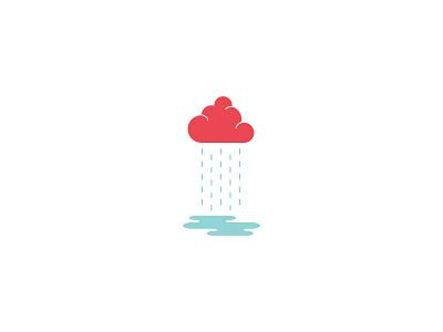 Rain Cloud rai cloud puddle simple fun