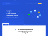 Software House Landing Page