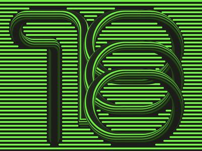 1000 typography type numbers graphic design illustrator lettering design vector illustration erikdgmx