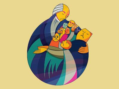 Magazine cover cover magazine mexican art design illustrator graphic design color vector digital illustration erikdgmx illustration