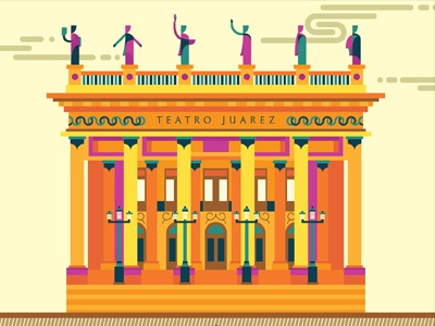 Teatro Juárez, Guanajuato, México