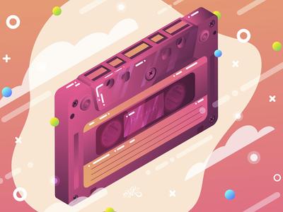 Cassette isometric