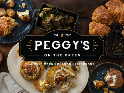 Peggy's On The Green Restaurant Logo