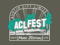 Austin City Limits Fest Design Concept