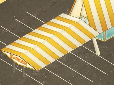 Whataburger illustration icon
