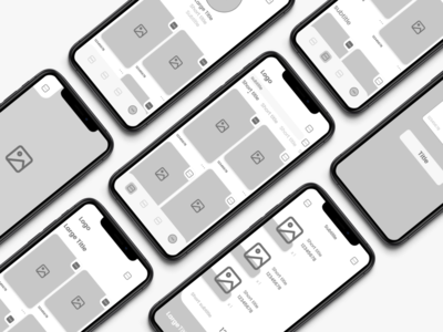 E-Commerce App Wireframes