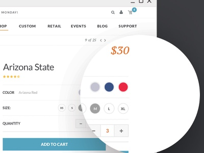 Cowbucker | Product Page product ecommerce ux ui