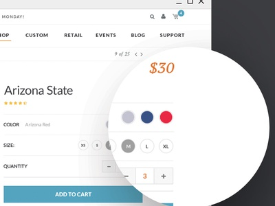 Cowbucker   Product Page product ecommerce ux ui
