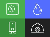 Simple Service Icons