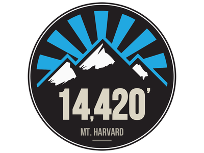 Mt Harvard 14er colorado mountain