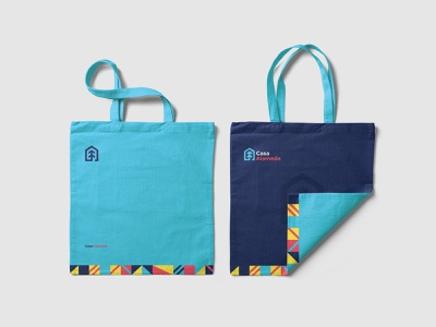 Casa Alameda Bag strategy strategic branding strategic design mexico brand blue design branding identity